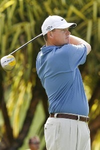 Chad Campbell during the third round of the Mercedes-Benz Championship held on the Plantation Course at Kapalua in Kapalua, Maui, Hawaii, on January 6, 2007. Photo by: Stan Badz/PGA TOURPhoto by: Stan Badz/PGA TOUR
