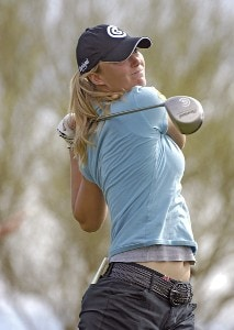 Catherine Cartwright in action during the first round of the 2006 Safeway International, Thursday, March 16, 2006 at Superstition Mountain Golf and Country Club in Superstition Mountain, Arizona.Photo by Marc Feldman/WireImage.com