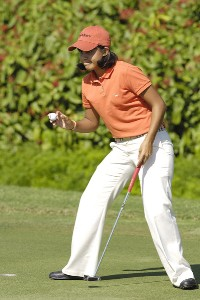 Julieta Granada during the third round of the ADT Championship at the Trump International Golf Club in West Palm Beach, Florida on Saturday, November 18, 2006. LPGA - 2006 ADT Championship - Third RoundPhoto by Steve Levin/WireImage.com