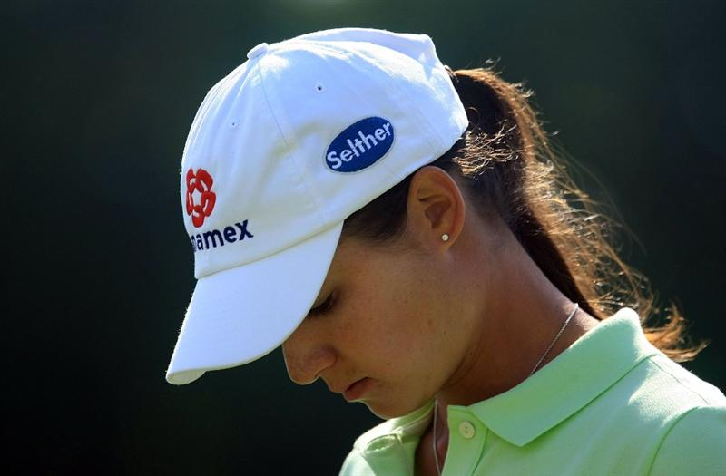 WEST PALM BEACH, FL - NOVEMBER 21:  Lorena Ochoa of Mexico walks to the seventh green during the second round of the ADT Championship at the Trump International Golf Club on November 21, 2008 in West Palm Beach, Florida.  (Photo by Scott Halleran/Getty Images)