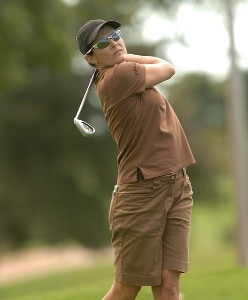 Rachel Hetherington in action during the first round of the inaugural 2006 Fields Open in Hawaii at Ko Olina Golf Club in Kapolei, Hawaii February 22, 2006.Photo by Steve Grayson/WireImage.com