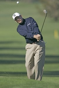 Bart Bryant during the first round of the 2006 Accenture Match Play Championship at the La Costa Resort & Spa in Carlsbad, California on February 22, 2006.Photo by Hunter Martin/WireImage.com