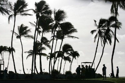 Course scenic of the 16th hole during the second round of the Sony Open in Hawaii held at Waialae Country Club in Honolulu, Hawaii, on January 12, 2007. Photo by: Stan Badz/PGA TOURPhoto by: Stan Badz/PGA TOUR