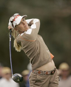 Carin Koch during the second round of the Kraft Nabisco Championship held at Mission Hills CC in Rancho Mirage, CA on Friday, March 31, 2006.Photo by Sam Greenwood/WireImage.com
