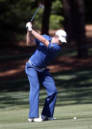 PALM HARBOR, FL - MARCH 19:  Justin Rose of England plays a shot on the 6th hole during the third round of the Transitions Championship at Innisbrook Resort and Golf Club on March 19, 2011 in Palm Harbor, Florida.  (Photo by Sam Greenwood/Getty Images)