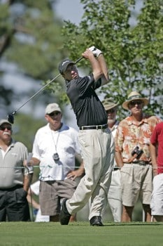 Todd Fischer in action during the third round at the Reno-Tahoe Open,  August 20,2005, held at Montreux GC, Reno, Nevada.Photo by Stan Badz/PGA TOUR/WireImage.com