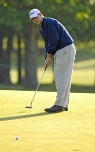 Johnson Wagner during the second round of the Rheem Classic presented by Times Record held at Hardscrabble Country Club in Fort Smith, Arkansas, on May 12, 2006.Photo by Steve Levin/WireImage.com