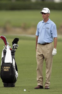 Larry Mize during the second round of the 2007 Honda Classic on the PGA National Champion Course in West Palm Beach, Florida on March 2, 2007. PGA TOUR - The 2007 Honda Classic - Second RoundPhoto by Pete Fontaine/WireImage.com