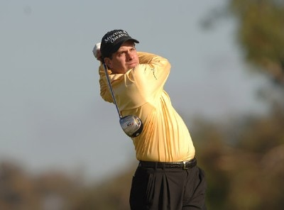 Matt Gogel in action during the second round of the PGA TOUR's 2006 Buick Invitationa at Torrey Pines South in La Jolla, California January 27, 2006Photo by Steve Grayson/WireImage.com