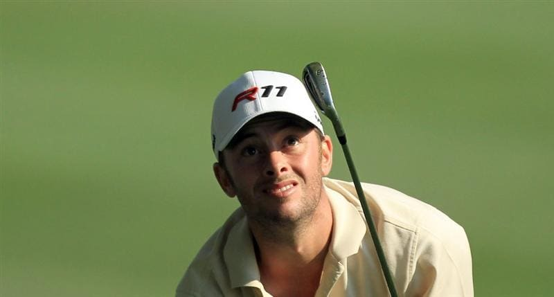 ORLANDO, FL - MARCH 25:  Spencer Levin plays his second shot at the 8th hole during the second round of the 2011 Arnold Palmer Invitational presented by Mastercard at the Bay Hill Lodge and Country Club on March 25, 2011 in Orlando, Florida.  (Photo by David Cannon/Getty Images)