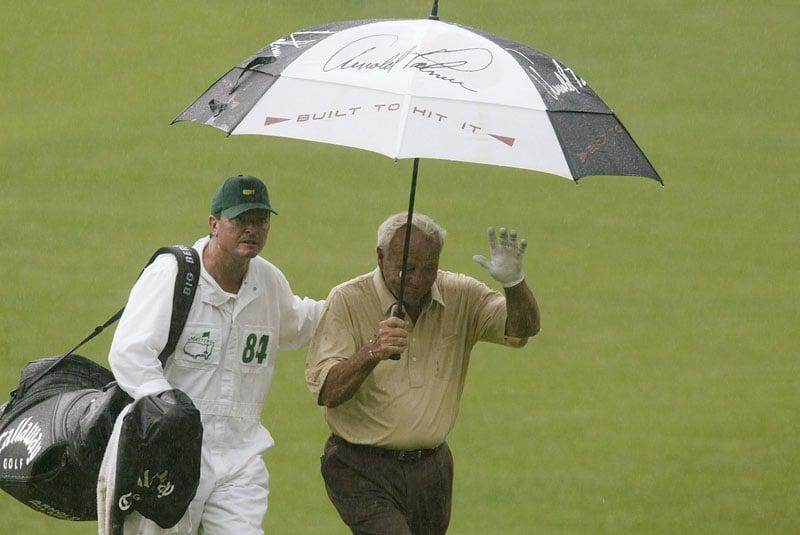 Arnold Palmer at the 2002 Masters
