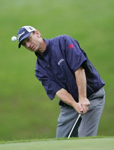 Brad Faxon during the first round of the Barclays Classic held at Westchester Country Club in Rye, New York on June 8, 2006.Photo by Sam Greenwood/WireImage.com