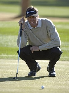 Brent Geiberger in action during the first round of the 2006 Chrysler Classic of Tucson on February 23, 2006 at the Omni Tucson National Golf Resort and Spa in Tucson, ArizonaPhoto by Marc Feldman/WireImage.com