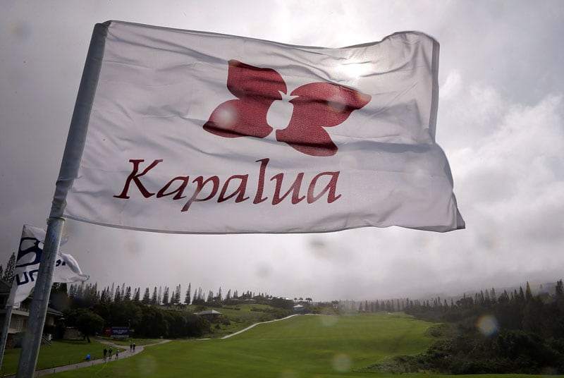 Flagstick at Kapalua