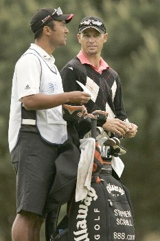 Stephen Scahill during the second round of the 2005 KLM Open at Hilversumsche Golf Club in the Netherlands on June 10, 2005.Photo by Pete Fontaine/WireImage.com