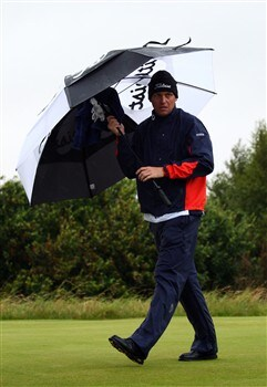 SOUTHPORT, UNITED KINGDOM - JULY 17:  Anders Hansen of Denmark walks off the second tee during the First Round of the 137th Open Championship on July 17, 2008 at Royal Birkdale Golf Club, Southport, England.  (Photo by Richard Heathcote/Getty Images)