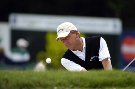Mark Brooks practices October 25, 2005 on the Copperhead Course for the 2005 Chrysler Championship in Palm Harbor, Florida.Photo by Al Messerschmidt/WireImage.com