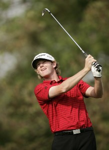 Brandt Snedeker during the first round of the 2007 Wachovia Championship held at Quail Hollow Country Club in Charlotte, North Carolina on May 3, 2007. PGA TOUR - 2007 Wachovia Championship - First RoundPhoto by Sam Greenwood/WireImage.com