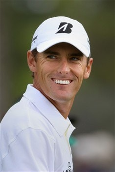AUGUSTA, GA - APRIL 08:  Charles Howell III smiles on the tenth hole during the second day of practice prior to the start of the 2008 Masters Tournament at Augusta National Golf Club on April 8, 2008 in Augusta, Georgia.  (Photo by Andrew Redington/Getty Images)