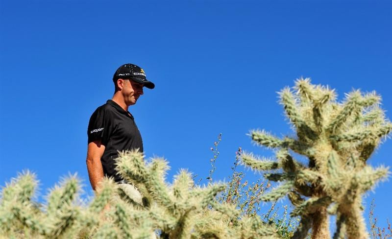 MARANA, AZ - MARCH 01:  Geoff Ogilvy of Australia  the final round of Accenture Match Play Championships at Ritz - Carlton Golf Club at Dove Mountain on March 1, 2009 in Marana, Arizona.  (Photo by Stuart Franklin/Getty Images)