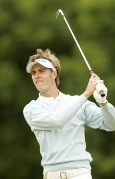Nicolas Colsaerts during the first round of the 2005 Aa St Omer Open at the Aa St Omer Golf Club. June 16, 2005Photo by Pete Fontaine/WireImage.com
