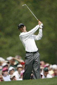 Charles Howell III during the first round of the 2007 Masters at the Augusta National Golf Club in Augusta, Georgia, on April 5, 2007. The 2007 Masters - First RoundPhoto by Hunter Martin/WireImage.com