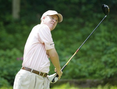 Joe Ogilvie during the second round of the Buick Championship held at TPC River Highlands in Cromwell, Connecticut, on June 30, 2006.Photo by Jim Rogash/WireImage.com