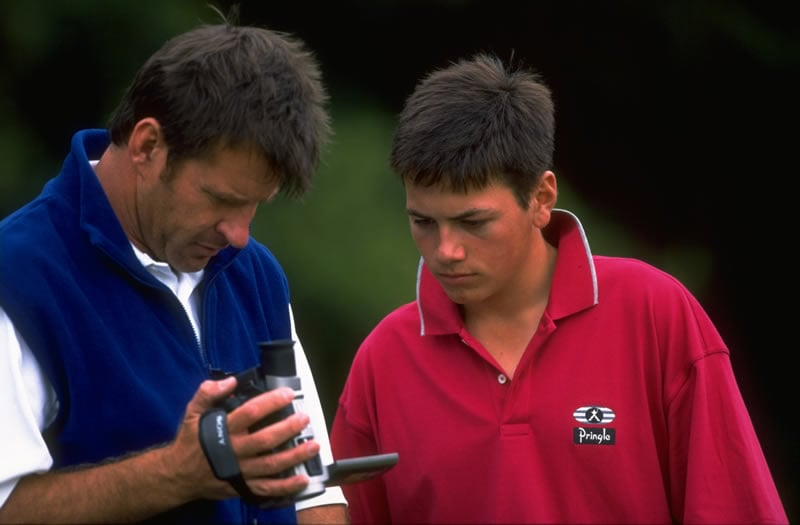 Nick Faldo and Nick Dougherty