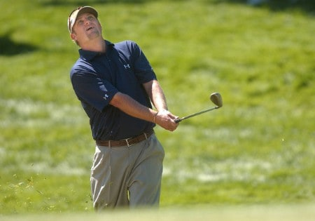 Chris M. Anderson in action during the third round of the 2005 The INTERNATIONAL at Castle Pines Golf Club in Castle Rock, Colorado August 7, 2005.