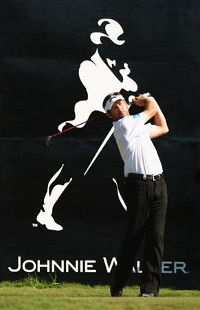 PERTH, AUSTRALIA - FEBRUARY 19: Robert Rock of England in action during day one of the 2009 Johnnie Walker classic held at The Vines Resort and Country Club February 19, 2009 in Perth, Australia.  (Photo by Ian Walton/Getty Images)
