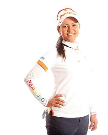 CITY OF INDUSTRY, CA - MARCH 22:  Ai Miyazato of Japan poses for a portrait on March 22, 2011 at the Industry Hills Golf Club in the City of Industry, California.  (Photo by Jonathan Ferrey/Getty Images)