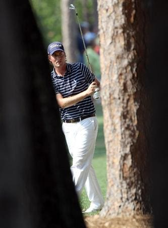 PALM HARBOR, FL - MARCH 20:  Webb Simpson plays a shot on the 11th hole during the final round of the Transitions Championship at Innisbrook Resort and Golf Club on March 20, 2011 in Palm Harbor, Florida.  (Photo by Sam Greenwood/Getty Images)