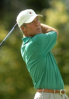 Ben Crenshaw in action during the first round of the 2005 Boeing Greater Seattle Classic at TPC Snoqualmie in Snoqualmie, Washington August 19, 2005.Photo by Steve Grayson/WireImage.com