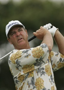 Tom Purtzer during the first round of the Boeing Championship at Sandestin at Raven Golf Club in Destin, Florida on June 1,2007. Champions Tour - 2007 Boeing Championship at Sandestin - First RoundPhoto by Michael Cohen/WireImage.com