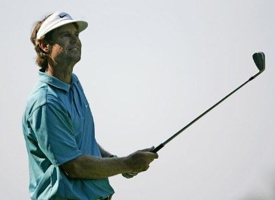Paul Azinger during the first round of the Booz Allen Classic at TPC Avenel in Potomac, Maryland, on June 22, 2006.Photo by Hunter Martin/WireImage.com