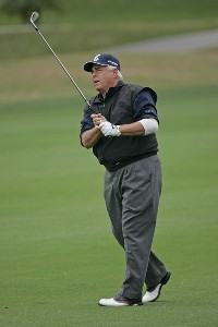 Doug Tewell on the 16th hole during the first round of the 2006 Outback Steakhouse Pro-Am held at TPC of Tampa Bay in Lutz, Florida, on February 24, 2006.Photo by: Chris Condon/PGA TOUR