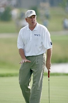 Gary Koch during the first round of the Champions Tour at the Bayer Advantage Classic in Overland Park, KS on June 10, 2005.Photo by G. Newman Lowrance/WireImage.com