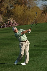 John Rollins during the second round of the FBR Open at the TPC Scottsdale on Friday, February 2, 2007 in Scottsdale, Arizona. PGA TOUR - 2007 FBR Open - Second RoundPhoto by Marc Feldman/WireImage.com