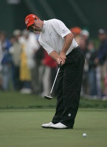 Arron Oberholser during the third round of the 2007 Wachovia Championship held at Quail Hollow Country Club in Charlotte, North Carolina on May 5, 2007. PGA TOUR - 2007 Wachovia Championship - Third RoundPhoto by Richard Schultz/WireImage.com