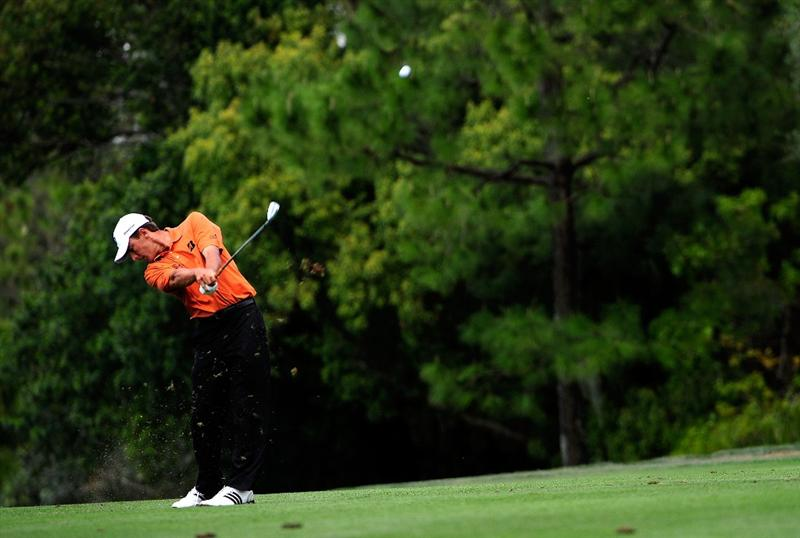 PALM HARBOR, FL - MARCH 21:  Charles Howell III hits on the 7th hole during the third round of the Transitions Championship at the Innisbrook Resort and Golf Club on March 21, 2009 in Palm Harbor, Florida.  (Photo by Sam Greenwood/Getty Images)