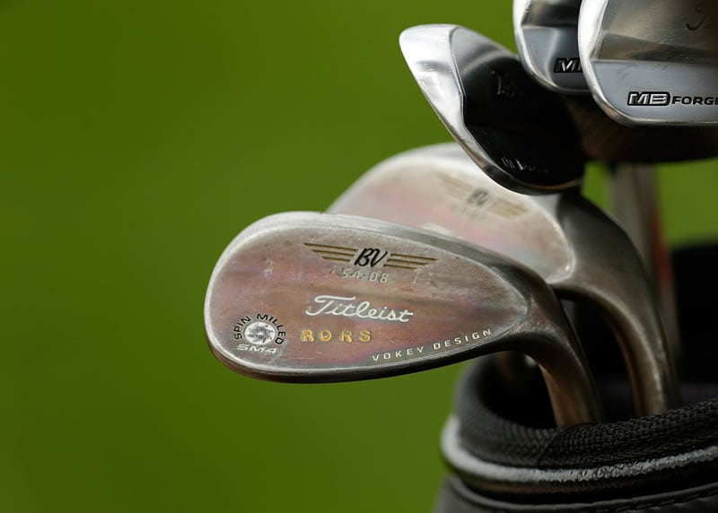 Rory McIlroy's clubs