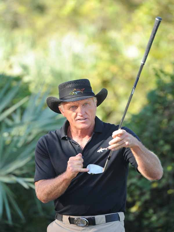 Golf Channel Academy, Greg Normam