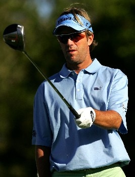 PALM BEACH GARDENS, FL - FEBRUARY 28:  Brett Quigley plays the 14th hole during the first round of the Honda Classic at PGA National Resort and Spa on February 28, 2008 in Palm Beach Gardens, Florida.  (Photo by Sam Greenwood/Getty Images)