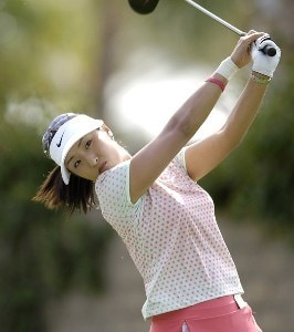 Grace Park during first round action at the Kraft Nabisco Championships at The Mission Hills Country Club in Rancho Mirage, California on Thursday, March 30, 2006.Photo by Steve Levin/WireImage.com