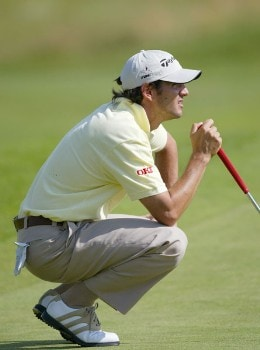 Carlos Rodiles (ESP) during the second round of the 2005 Open de France at Le Golf National in St. Quentin, France on June 24, 2005.Photo by Alexanderk/WireImage.com