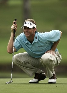Lee Janzen during the first round of the 2006 FUNAI Classic at WALT DISNEY WORLD Resort on the Palm Course and the Magnolia Course in Lake Buena Vista, Florida, on October 19, 2006. PGA TOUR - 2006 FUNAI Classic at the WALT DISNEY WORLD Resort - First RoundPhoto by Sam Greenwood/WireImage.com