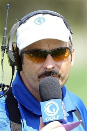 ORLANDO, FL - MARCH 16:  David Feherty of Northern Ireland on the course during the first day of the 2009 Tavistock Cup at the Lake Nona Golf and Country Club, on March 16, 2009 in Orlando, Florida  (Photo by David Cannon/Getty Images)