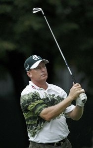 Woody Austin during the first round of the Buick Open at Warwick Hills Golf and Country Club in Grand Blanc, Michigan on August 3, 2006.Photo by Michael Cohen/WireImage.com