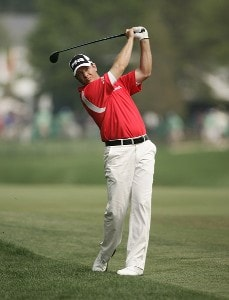 Ted Purdy during the first round of the 2007 Wachovia Championship held at Quail Hollow Country Club in Charlotte, North Carolina on May 3, 2007. PGA TOUR - 2007 Wachovia Championship - First RoundPhoto by Sam Greenwood/WireImage.com