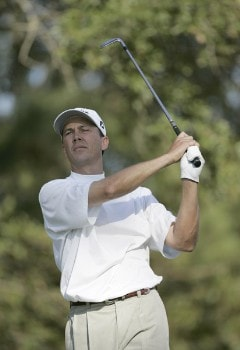 Jerry Smith during the first round of the Nationwide Tour Championship held  on the Senator course at Capitol Hill GC in Prattville, Alabama on Thursday, October 27, 2005.Photo by Sam Greenwood/WireImage.com